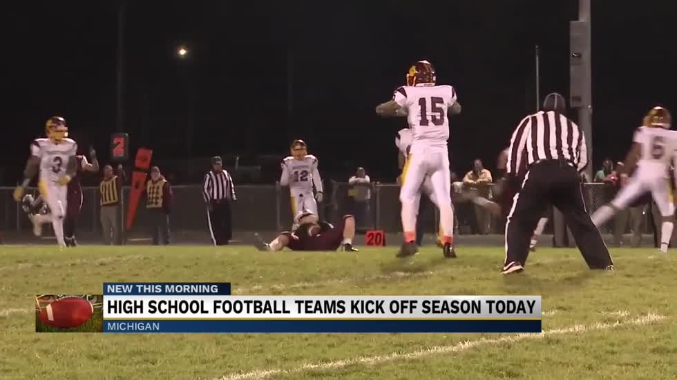 Michigan high school football season begins Friday